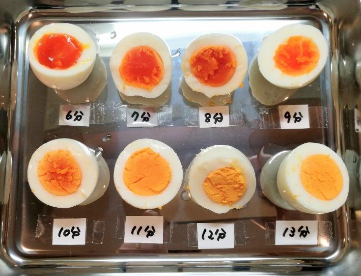 ゆで卵は何分が最適?ゆで時間と仕上がりの目安 | セブンプレミアム ...