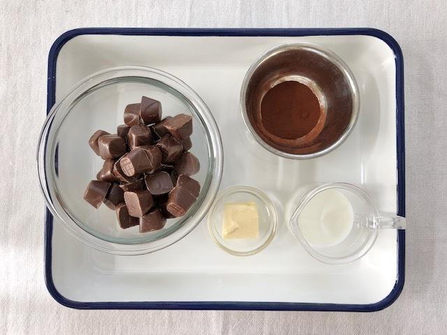 チョコ 簡単 生