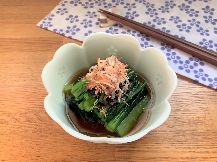 方 小松菜 茹で